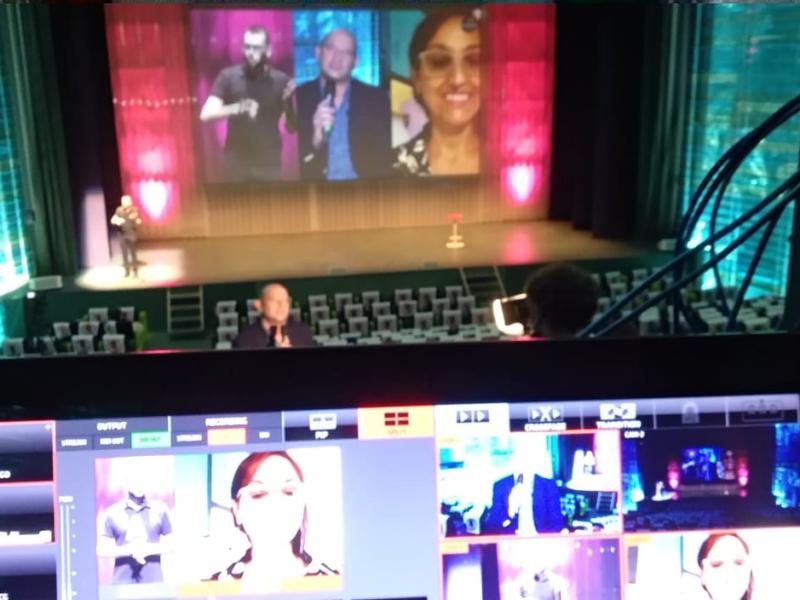 Cómo trabaja una productora como Bamboo Audiovisual en directo