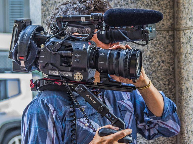 Responsabilidades del operador de cámara profesional