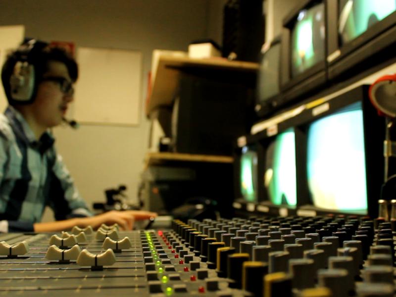 Cómo funciona un estudio de televisión